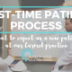 First Time Patient Process