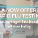 IMLA Offering Rapid Flu Testing