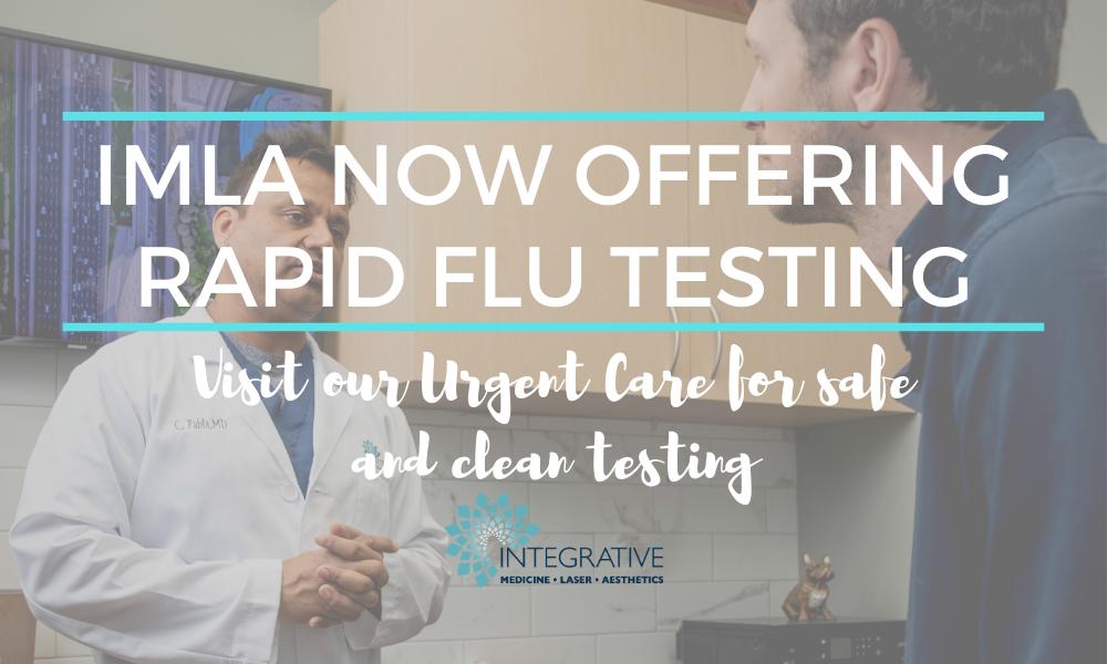 IMLA Offering Rapid Flu Testing